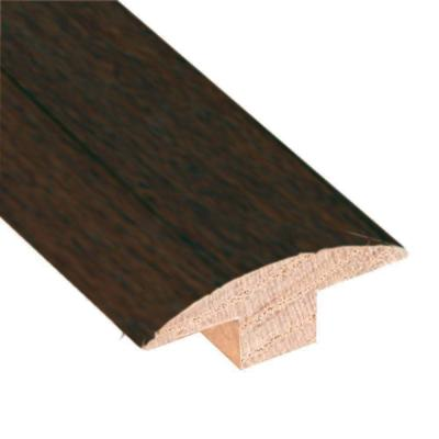 Hickory Chestnut 3/4 in. Thick x 2 in. Wide x 78 in. Length Hardwood T-Molding