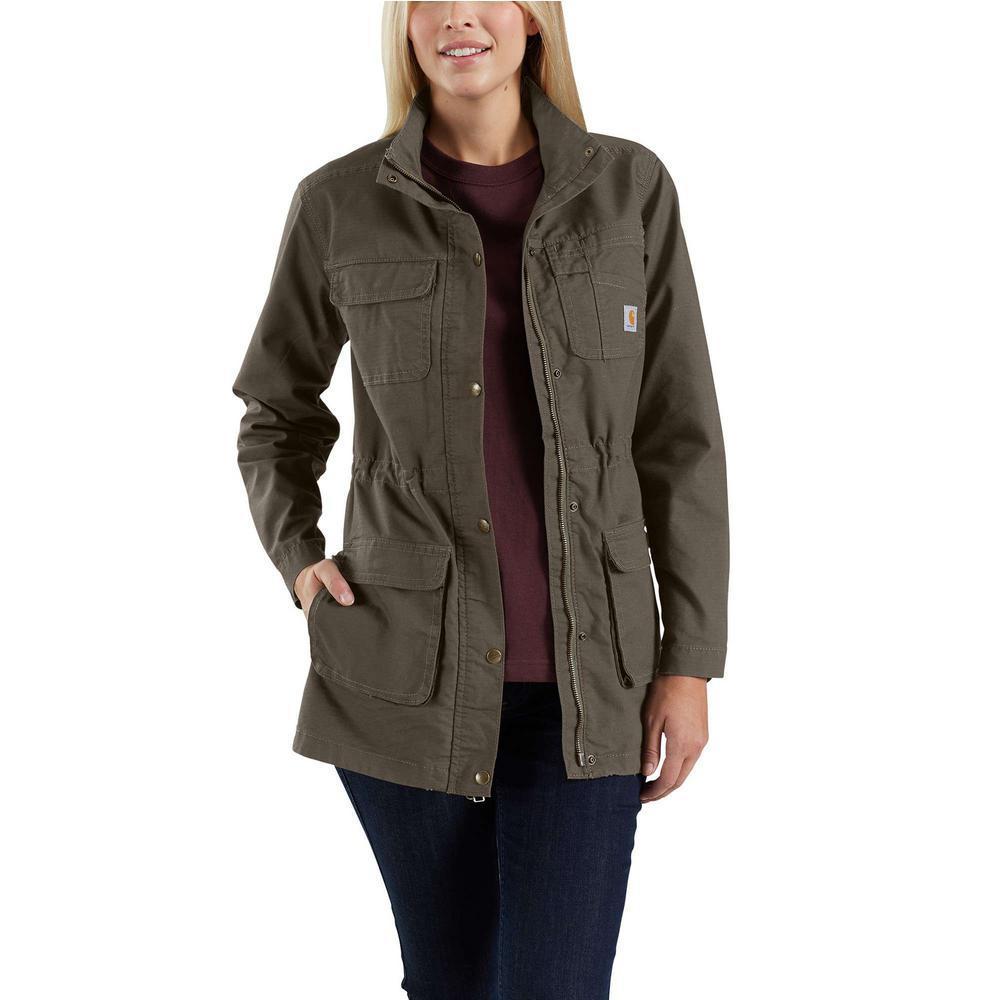 Women's Medium Tarmac Ripstop Smithville Jacket