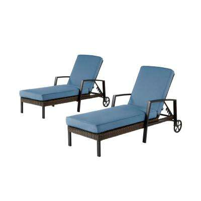 Hampton Bay Outdoor Chaise Lounges Patio Chairs The