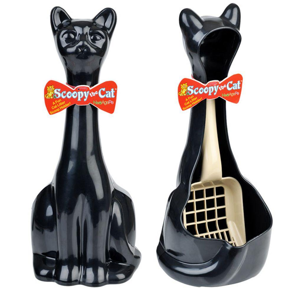 New Age Pet Scoopy Litter Brush Holder