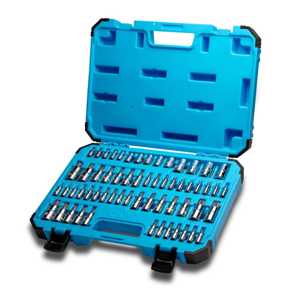 """T27 Male Torx Bit Star Socket 1//2/"""" Drive Standard Internal Chrome Vanadium Steel"""