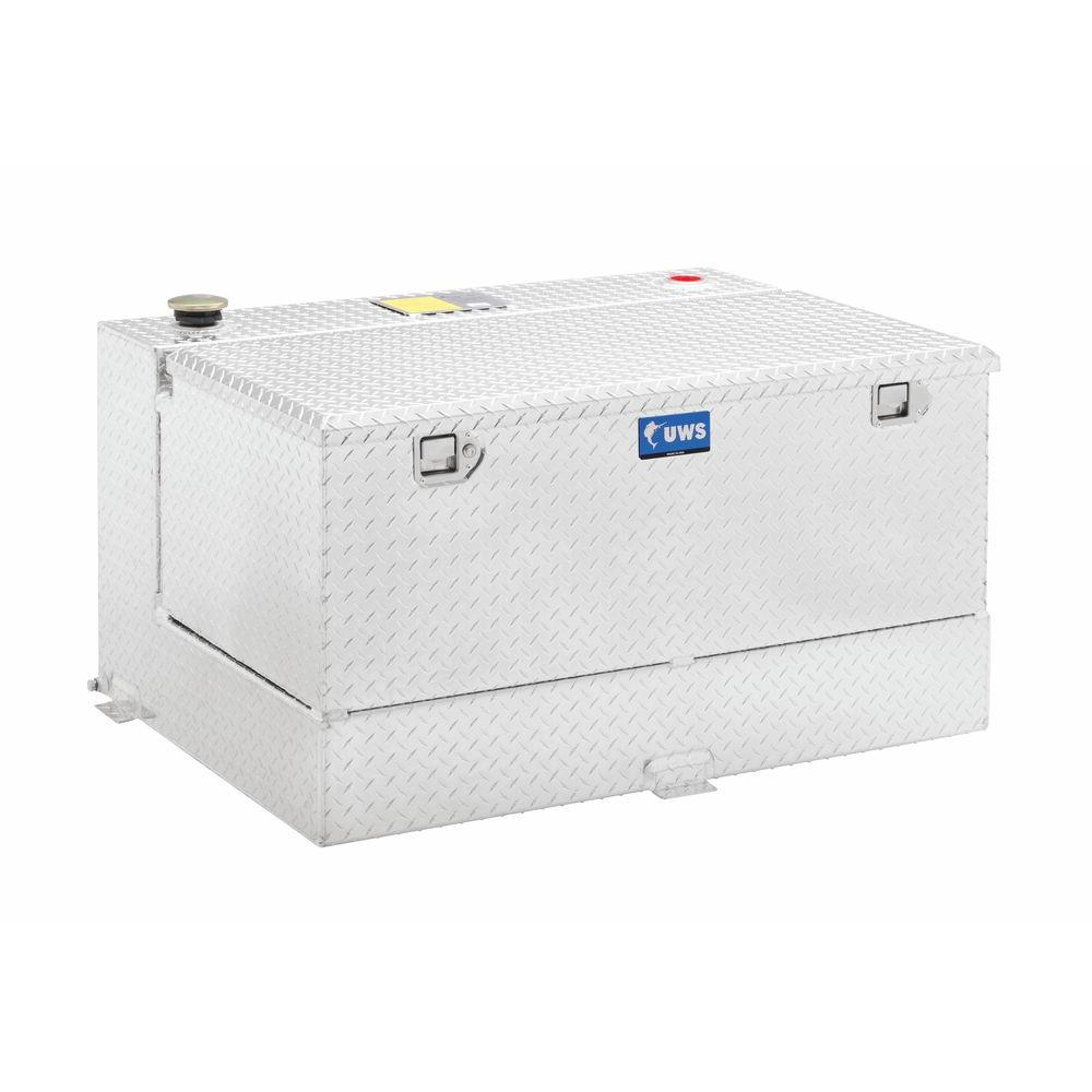 UWS 75 Gal. Aluminum L-Shape and Chest Transfer Tank Combo