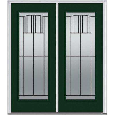 64 In. X 80 In. Madison Right Hand Full Lite Classic Primed Steel