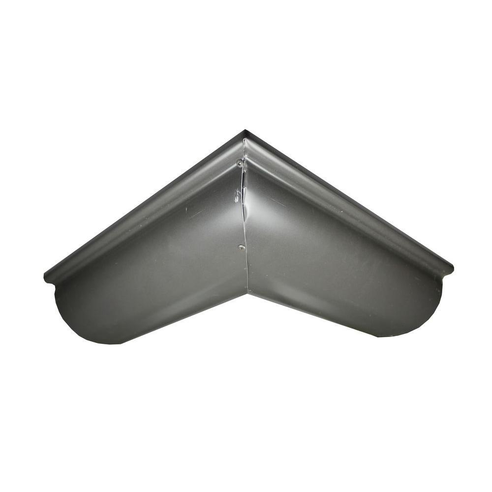 Spectra Metals 6 In X 10 Ft Half Round Bronze Aluminum