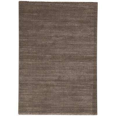 Oxford Tan 2 ft. x 3 ft. Geometric Area Rug