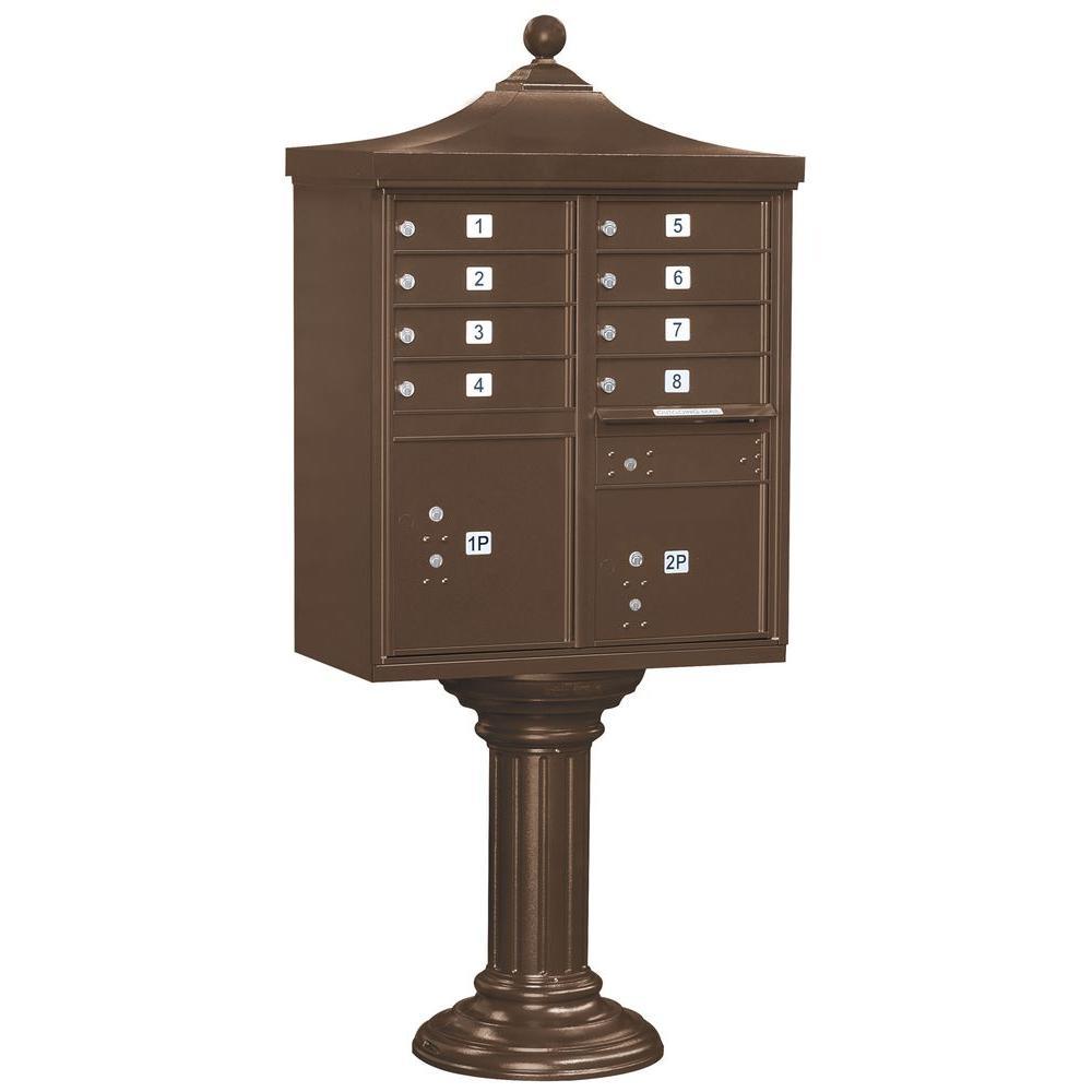 Regency Decorative 8-Compartment Cluster Box Unit