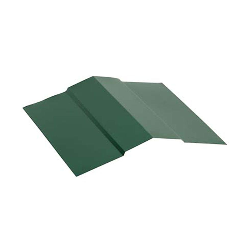 10 ft. Ridge-Cap Flashing Forest Green