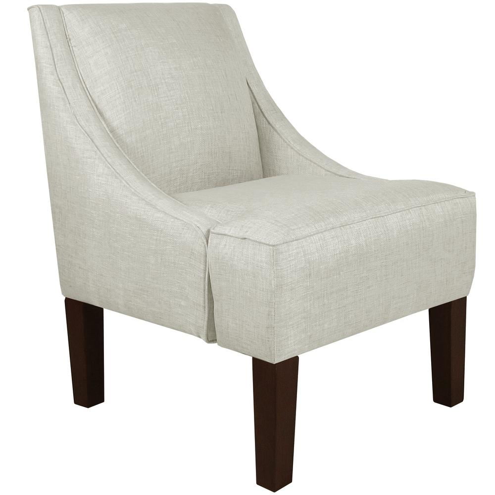 Merveilleux Groupie Oyster Swoop Arm Chair