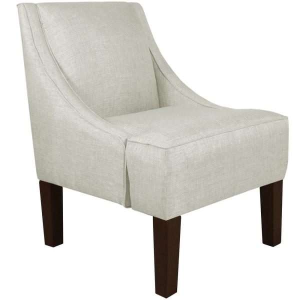 undefined Groupie Oyster Swoop Arm Chair