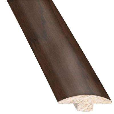Hickory French Roast 5/8 in. Thick x 2 in. Wide x 78 in. Length Hardwood T-Molding