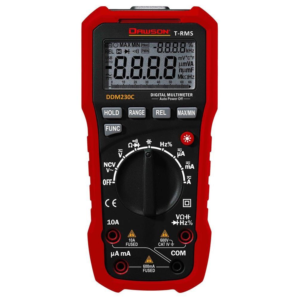 True-RMS Digital Multimeter with NCV