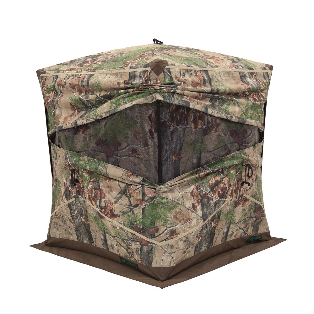 Barronett Blinds Big Ox 4 2 Person Pop Up Hunting Blind In