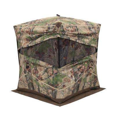 Big Ox 4 2 Person Pop-Up Hunting Blind in Backwoods Camo