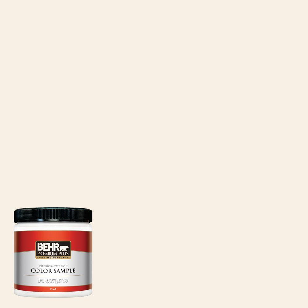 8 oz. #OR-W14 White Veil Interior/Exterior Paint Sample
