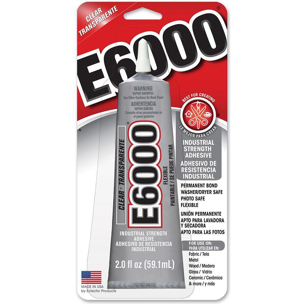 E8 8 fl. oz. Clear Adhesive