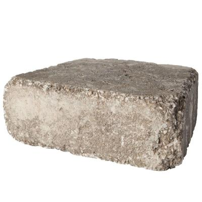 RumbleStone Trap 3.5 in. x 10.25 in. x 7 in. Greystone Concrete Garden Wall Block (120 Pcs. / 29.9 Face ft. / Pallet)