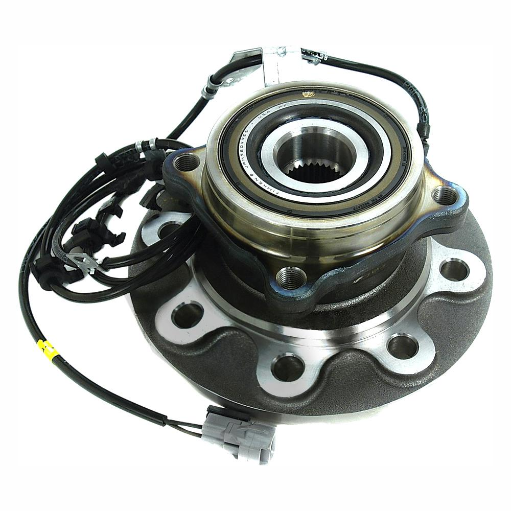 Timken Front Left Wheel Bearing And Hub Assembly Fits 1998