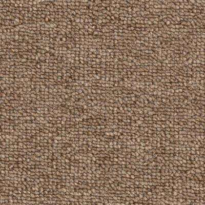 Carpet Sample - Main Rail 26 - Color Umber Texture 8 in. x 8 in.