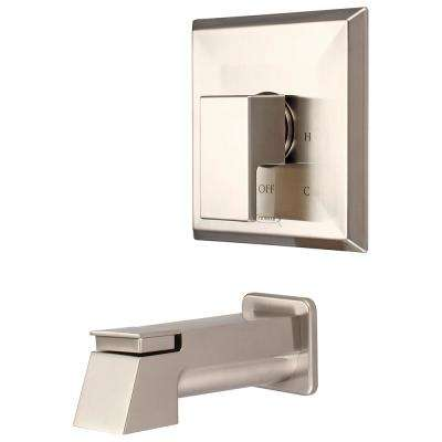 Mod 1-Handle Tub Trim Kit in Brushed Nickel (Valve Not Included)