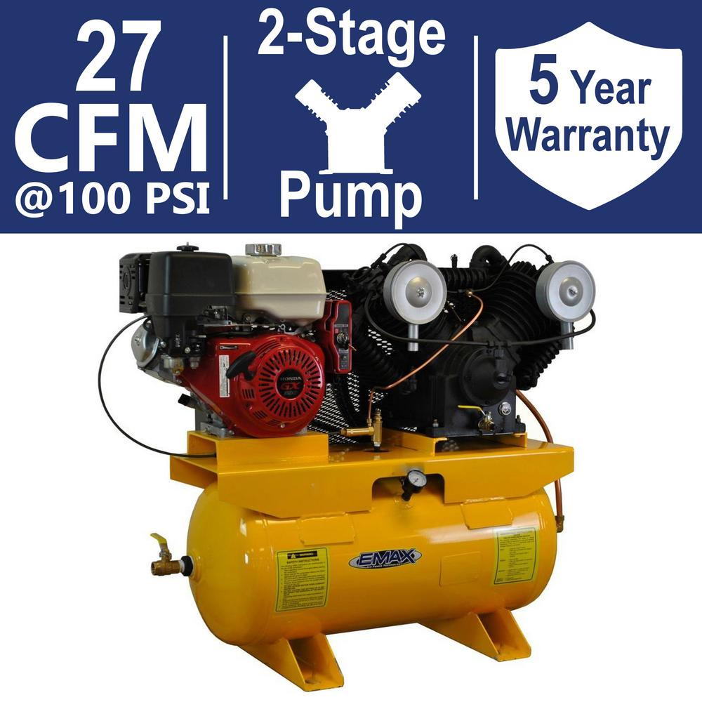 Premium Series 30 Gal. 13 HP V-4 Truck Mount Stationary Gas-Powered