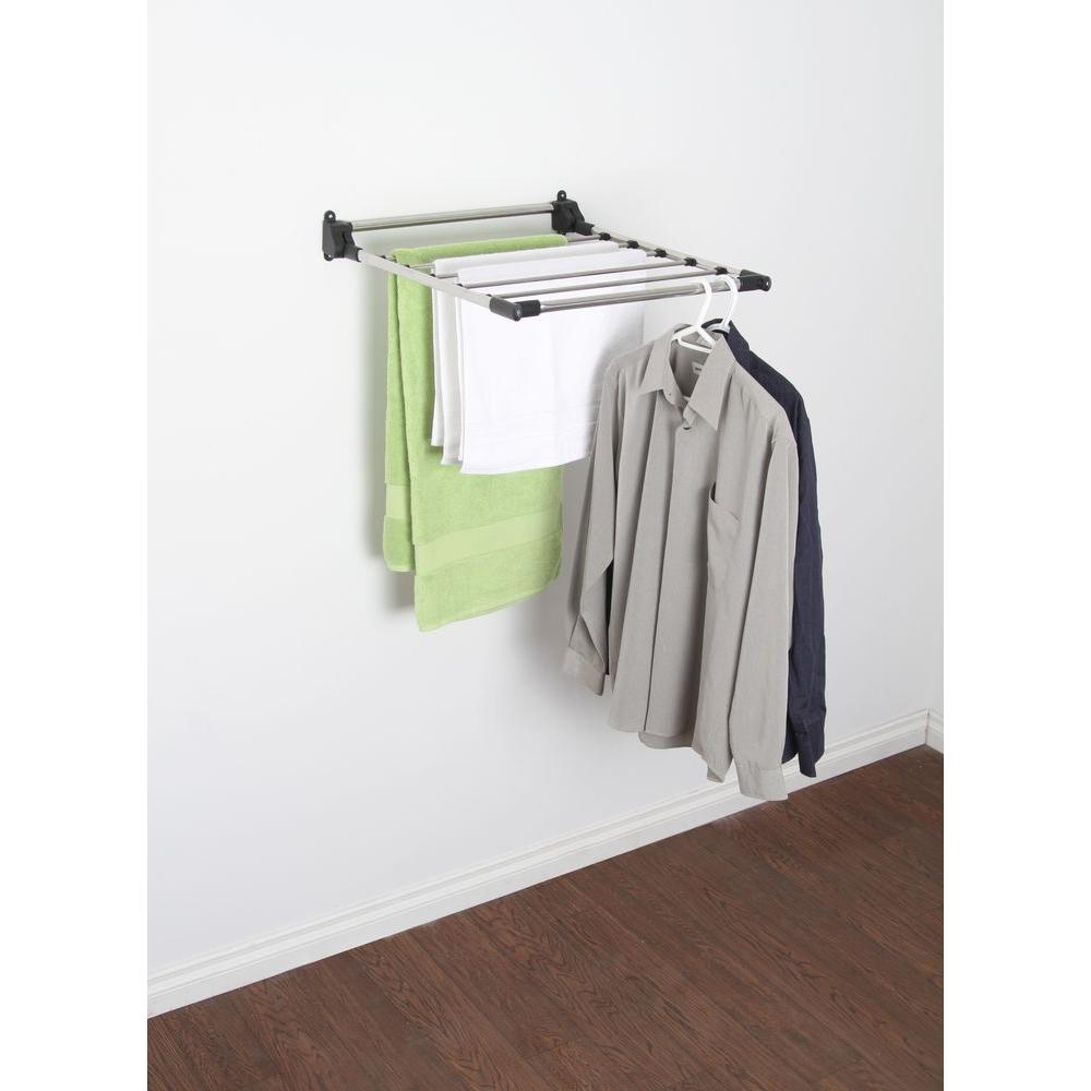 Greenway Stainless Steel Indoor Wall Mount Drying Rack