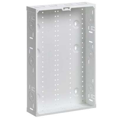 21 in. Structured Media Enclosure, White