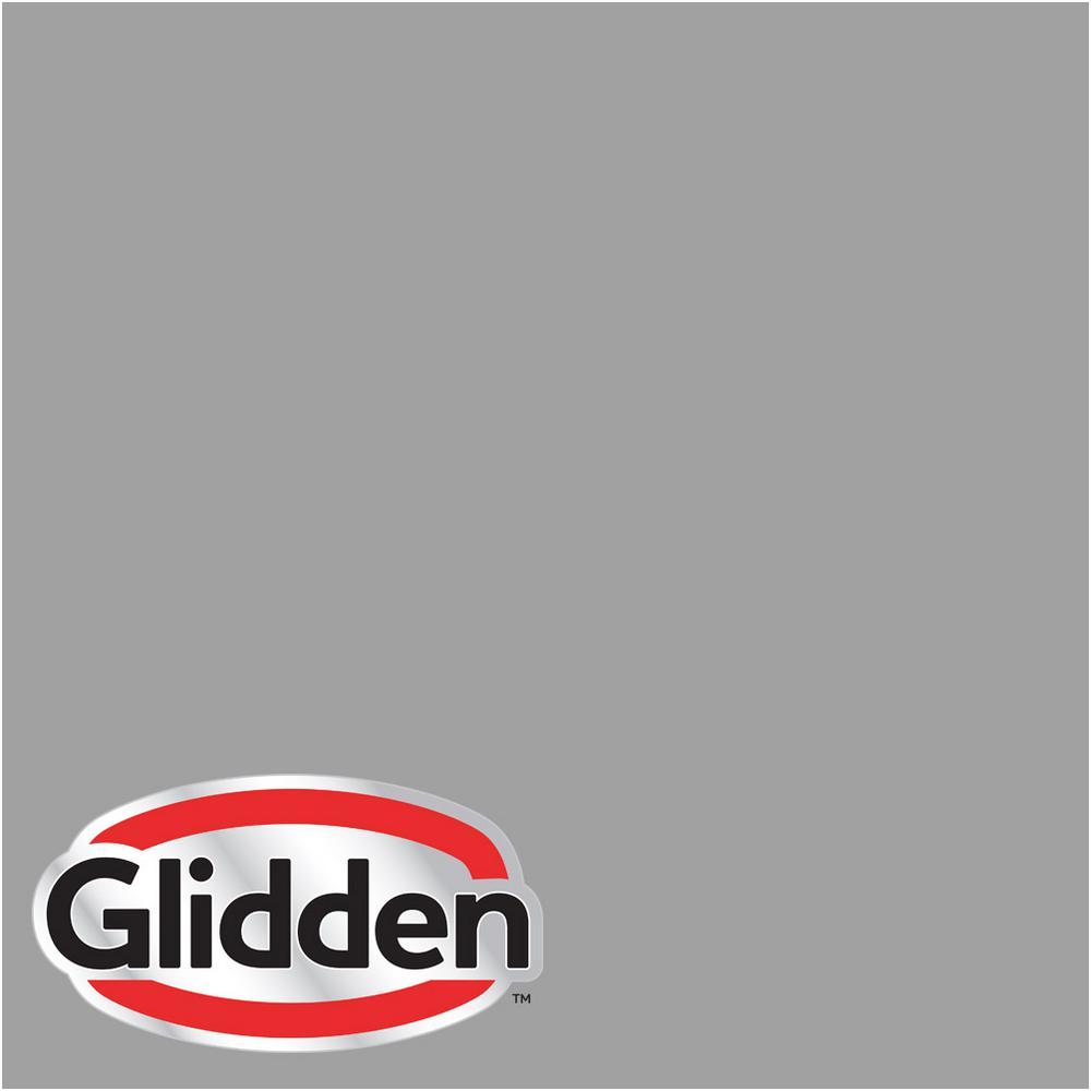 8 oz. #HDGCN63 Granite Grey Flat Interior Paint Sample