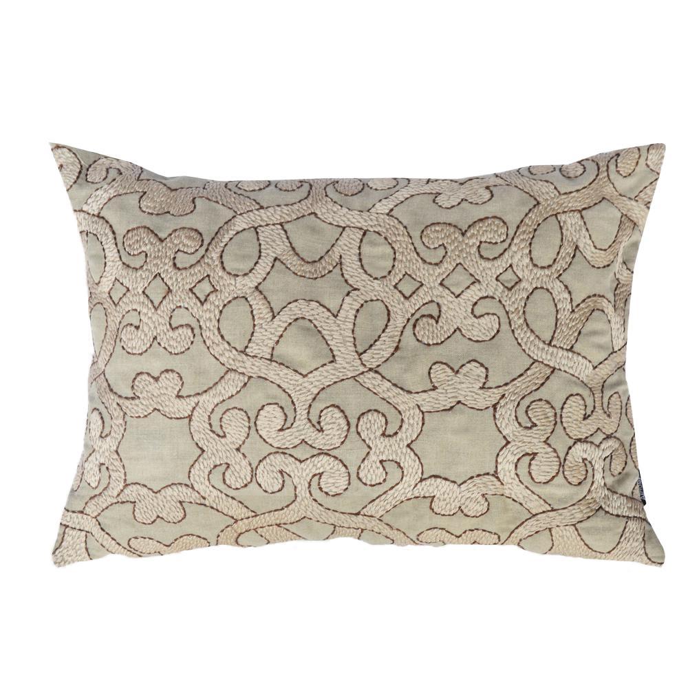 A1HC Glynnis Tan Cotton Pillow