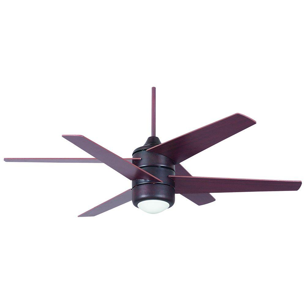 Illumine 1-Light Ceiling Fan Oil Rubbed Bronze-DISCONTINUED