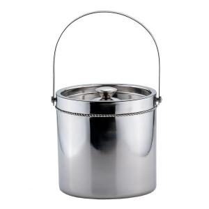 Click here to buy Old Dutch 3.5 qt. Stainless Steel Double-Walled Large Ice Bucket by Old Dutch.