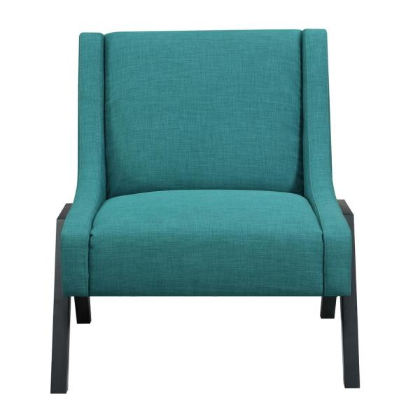 Picket House Furnishings Langley Teal Accent Chair