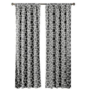 Creative Home Ideas Semi-Opaque Lenox 100% Cotton Extra Wide 84 inch L Rod Pocket Curtain Panel Pair, Light Grey (Set of... by Creative Home Ideas