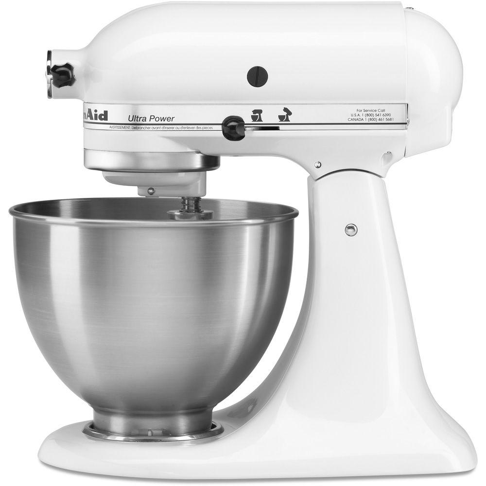 KitchenAid Ultra Power 4.5 Qt. Stand Mixer in White
