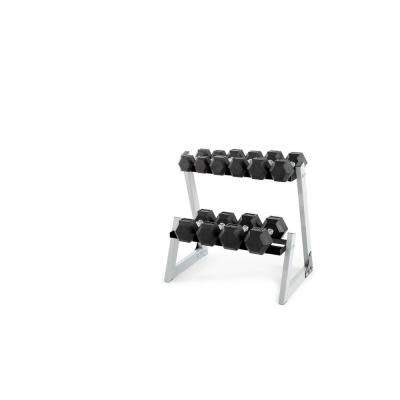 200 lb. Dumbbell Kit with Rack