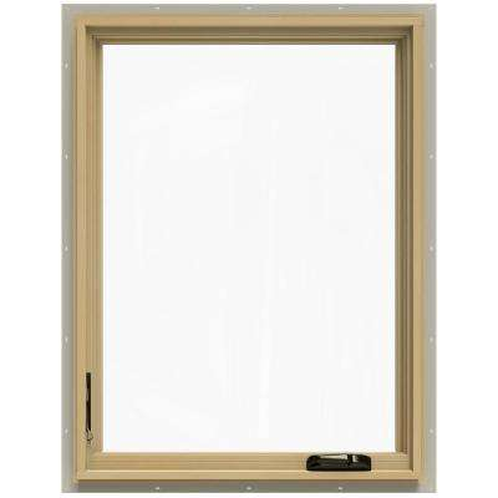 30.75 in. x 40.75 in. W-2500 Left-Hand Casement Wood Window