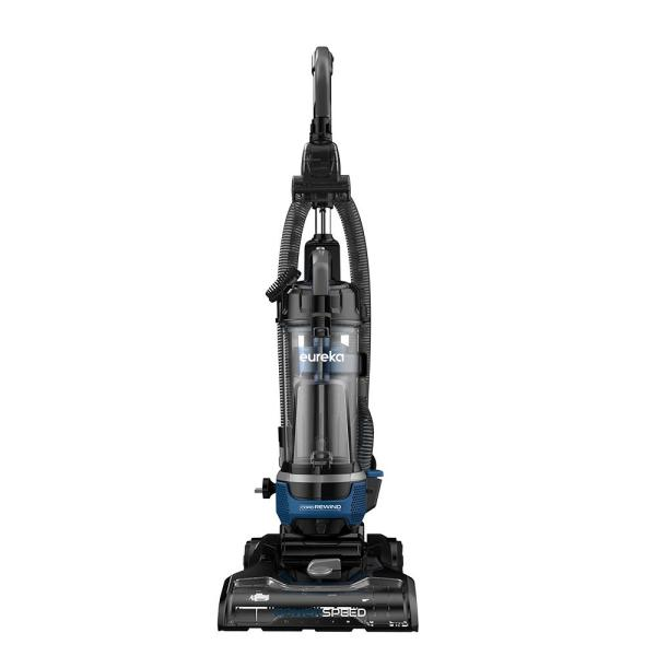 PowerSpeed Upright Bagless Vacuum Cleaner with Cord Rewind, LED Headlights and Pet Turbo Tool