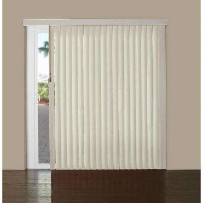 3.5 in. Vinyl Vertical Blind - S-Shaped