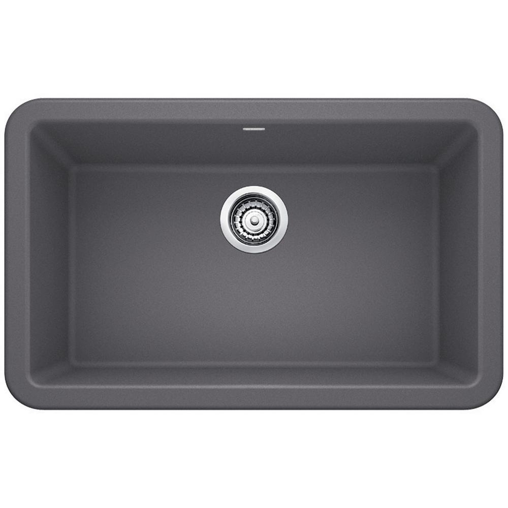 composite kitchen sinks blanco ikon apron front granite composite 29 in single 2415