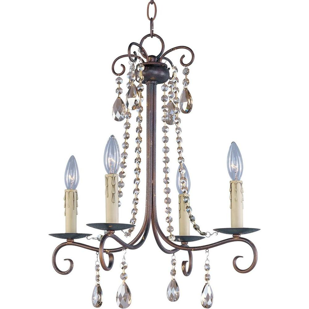 Adriana 4-Light Urban Rustic Chandelier