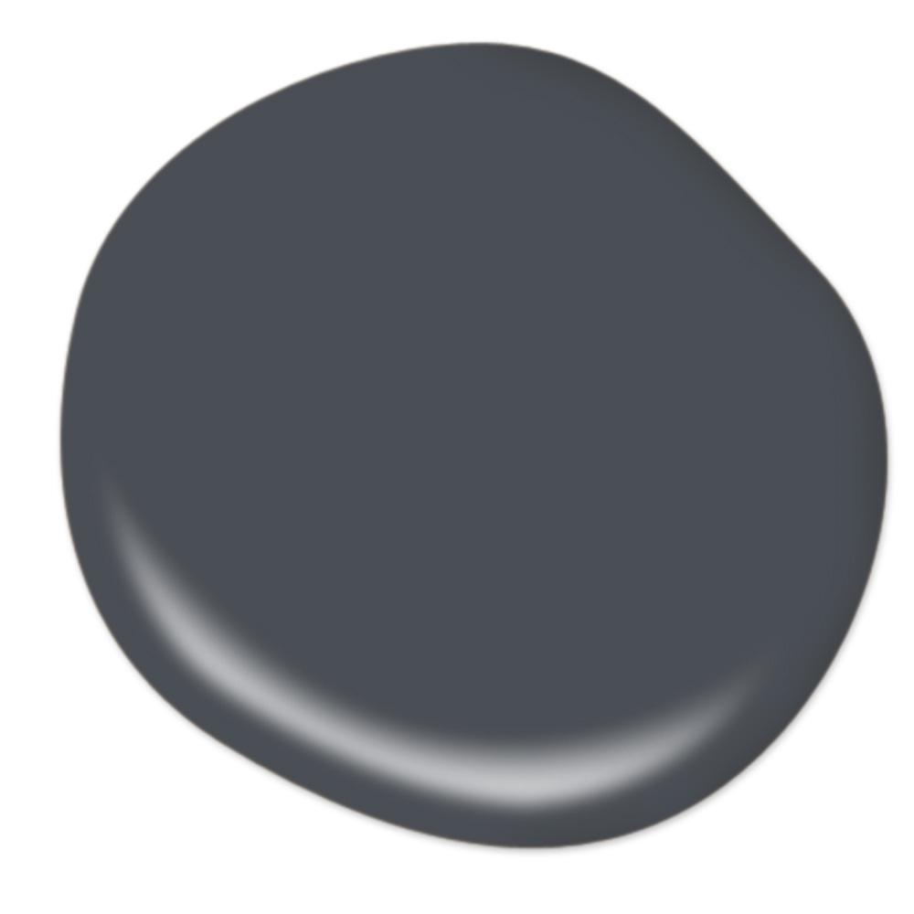 BEHR Poppy Seed - a soft black paint color. #bestblackpaint #paintcolors #softblack