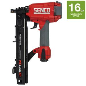 Senco 16-Gauge 1 inch Crown 1-1/2 inch Heavy Wire Roofing Stapler by Senco
