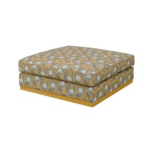 Tremendous Handy Living Square Upholstered Cocktail Ottoman In Gold Alphanode Cool Chair Designs And Ideas Alphanodeonline