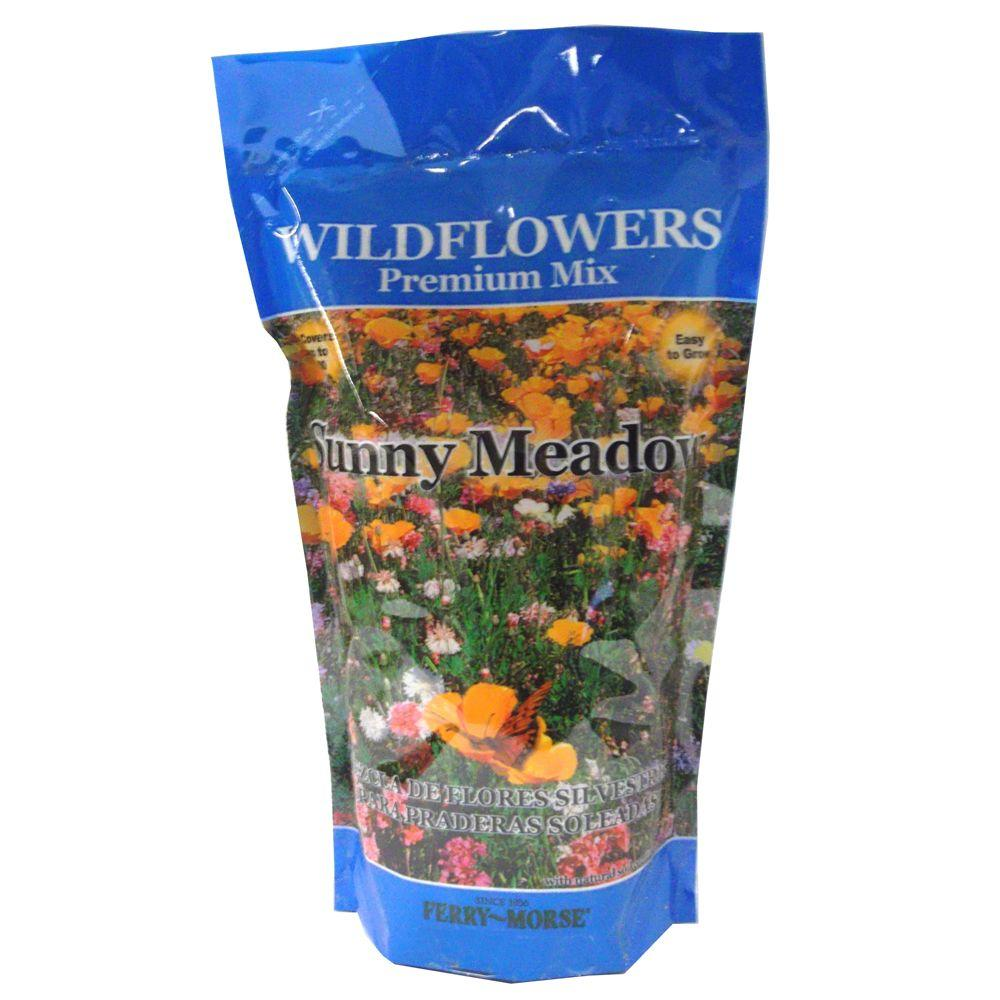 Flower seeds seeds accessories the home depot sunny meadow wildflower shaker bag izmirmasajfo