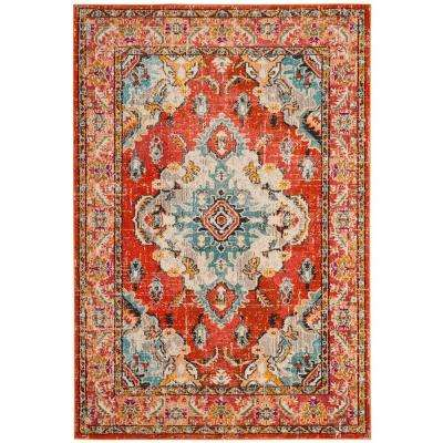 Orange 9 X 12 Area Rugs Rugs The Home Depot