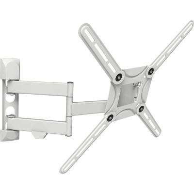 Full Motion Curved / Flat Panel Dual Arm TV Wall Mount for 29 in. to 65 in. Screens up to 88 lbs. UL Certified