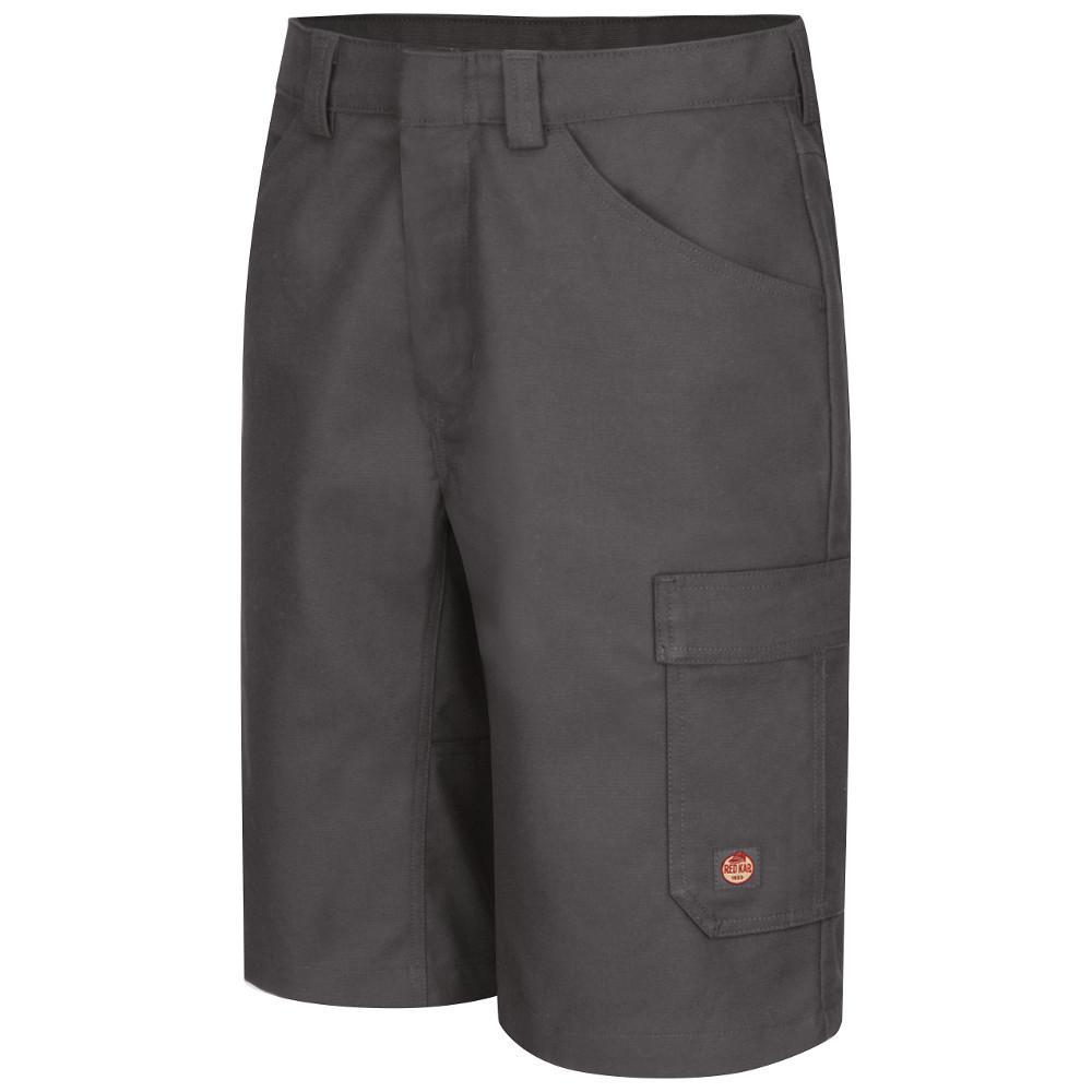 Men's 38 in. x 13 in. Charcoal Shop Short
