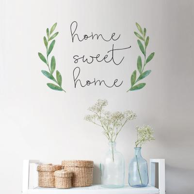 Green WallPops DWPQ2839 Sweet Home Quote Wall Decal