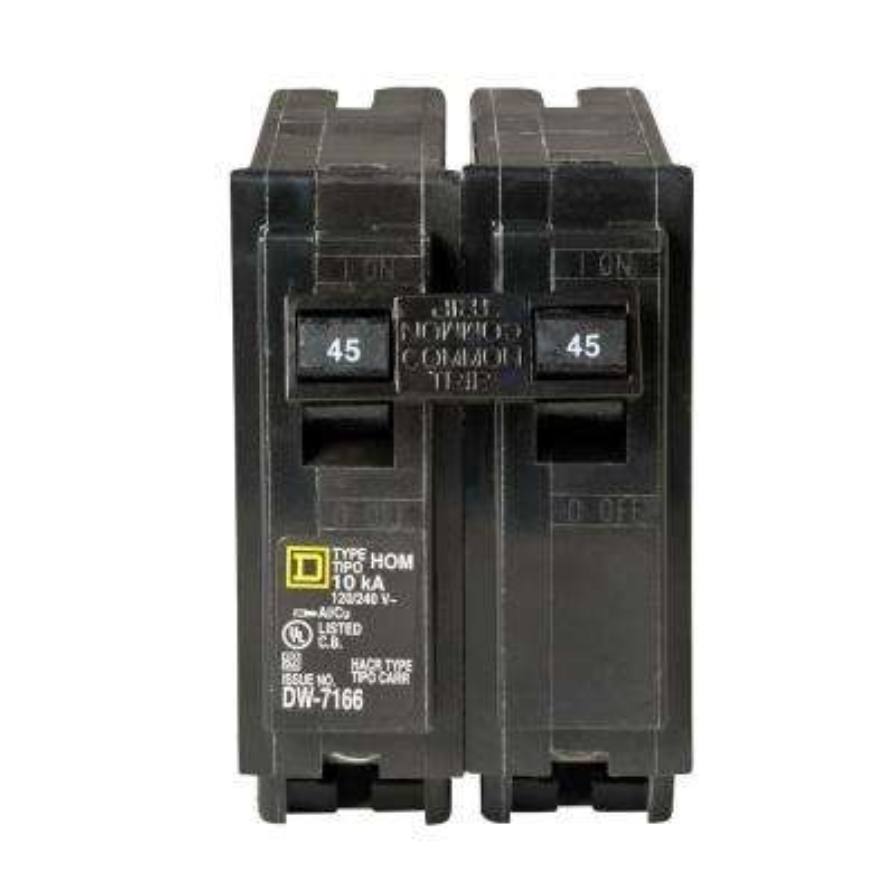 Homeline 45 Amp 2-Pole Circuit Breaker