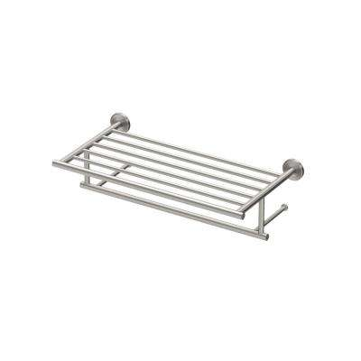 Latitude II 1-Bar Towel Rack in Satin Nickel