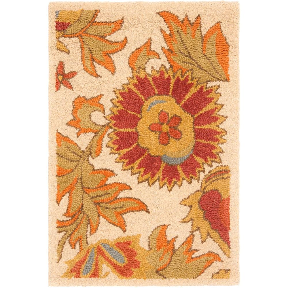 Blossom Ivory/Multi 2 ft. 6 in. x 4 ft. Area Rug